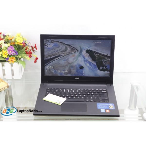 Dell inspiron 3443, Core I5-5200U, RAM 4GB-500G, Tốc Độ Xử Lý Nhanh, Máy Mỏng Đẹp, Vỏ Văn Chống Trầy, Nguyên Zin