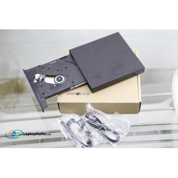 Ổ ĐỌC DVD R/RW, TIẾP XÚC QUA CỔNG USB 2.0, ĐỌC GHI TỐC ĐỘ CAO, Ổ MỚI 100%, BH 06 THÁNG