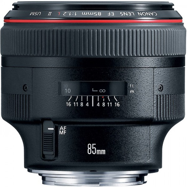 Lens Canon EF 85mm f/1.2 L II USM FullBox, LikeNew 99,99% (như mới)