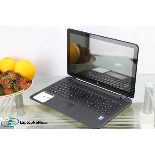HP 15-f010dx Notebook PC, CORE I3-4010U, RAM 4GB - 128 SSD + 500GB, MH CẢM ỨNG, MÁY ĐẸP, NGUYÊN ZIN