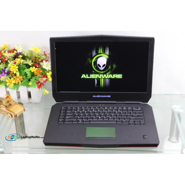 ALIENWARE 15, CORE I7-4710HQ, 2VGA-GTX 980M 4GB-DDR5,-256Bit. CHUYÊN GAME, ĐỒ HỌA 3D, NGUYÊN ZIN