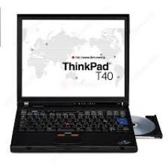RÃ XÁC LENOVO THINKPAD IBM T40, FULL BỘ VỎ + MÀN HÌNH + PHÍM