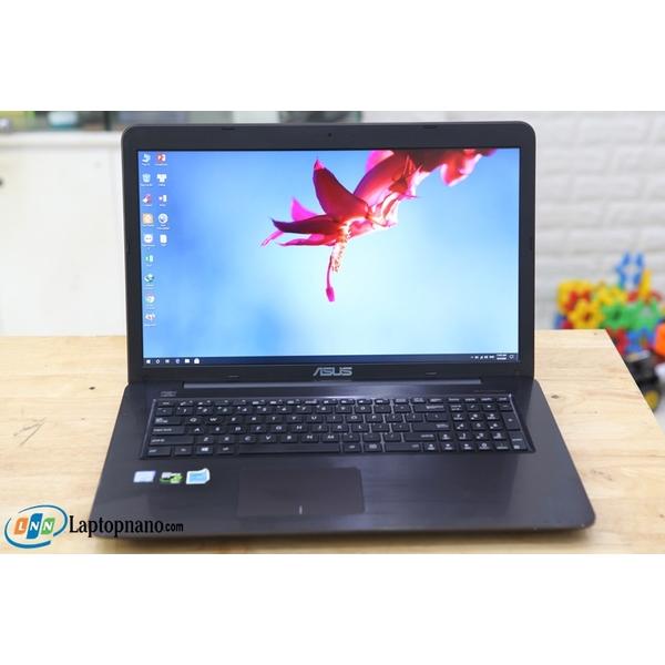 Asus X756UXM-HI51105W, Core i5-6200U, 17.3 Inch (FHD) 2Vga-Card Rời GTX 950M - Nguyên Zin