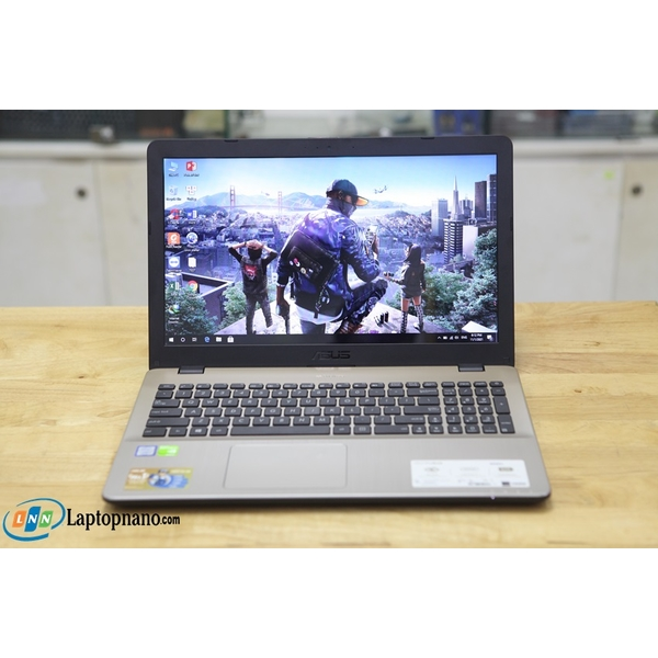 Asus Vivobook X542UQ-GO242T, Core i7-8550U, 2Vga-Card Rời 2GB GDDR5, Máy Đẹp - Tem Zin