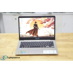 Asus Vivobook S410UA-EB220T Core i7-8550U, Ram 4GB-256GB, Máy Like New - Nguyên Tem Zin