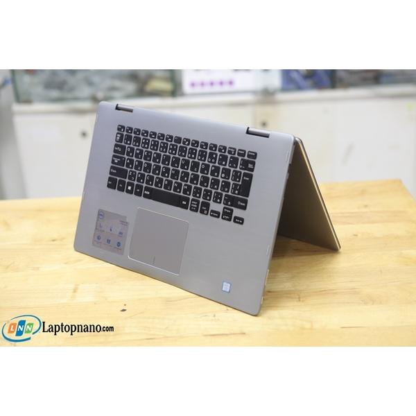 Dell Inspiron 15-7569 Core i7-6500U, Ram 12GB-512GB SSD, MH Cảm Ứng Xoay X360, Máy Đẹp - Nguyên Zin 100%
