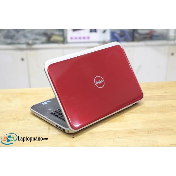 Dell Inspiron 5520 Core i5-3210M, Ram 4GB-500GB, Máy Màu Đỏ Rất Đẹp - Nguyên Zin 100%