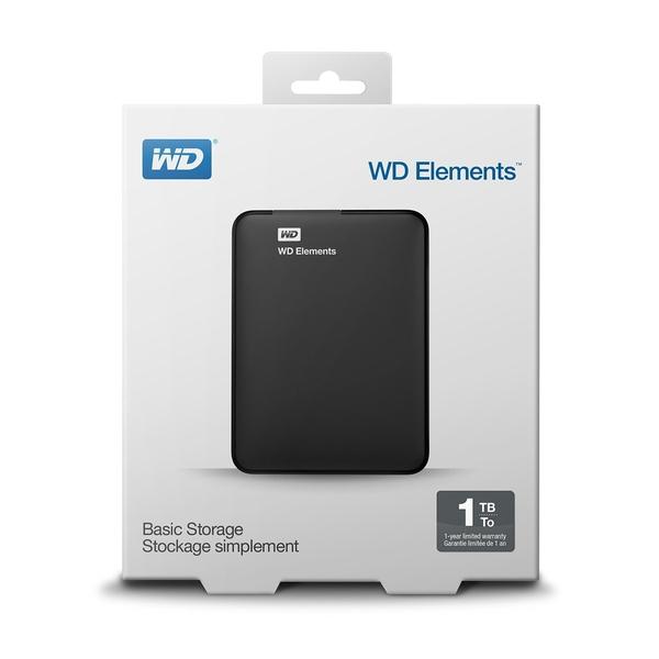 Ổ CỨNG DI ĐỘNG WD Elements 1000GB 2.5 USB 3.0