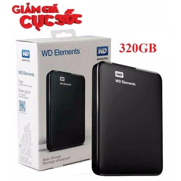 Ổ Cứng Di Động WD Elements 320GB USB 3.0