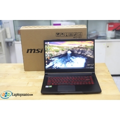 MSI GF63 Thin 10SC-020VN Core i7-10750H, Ram 8GB-512GB SSD, 2Vga-GTX 1650 4GB GDDR6, Máy Like New, Full Box - Còn BH Hãng