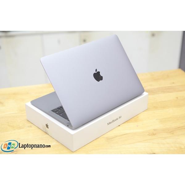 Macbook Air (Retina, 13-inch, 2018, MUQU2) Gray Core i5-8210Y, Ram 16GB-512GB SSD, Máy Like New - Full Box - Nguyên Zin 100%, Xách Tay Japan