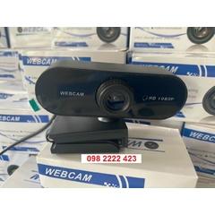 Webcam Kẹp HD Full 1080p USB Siêu Nét Tích Hợp Micro Cho Laptop, Máy Tính Bàn